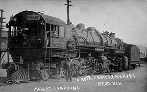 Cab forward - Mallet compound locomotive, Southern Pacific Railroad