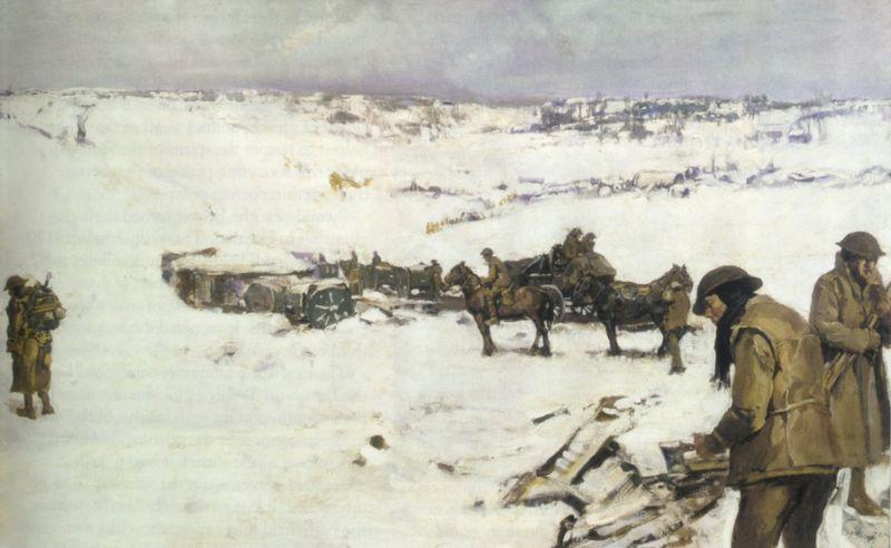 Batalla del Somme 800px-Mametz_Western_Front_%28Frank_Crozier%29