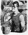 Man using a shaving brush in 1920s advert for shaving cream.jpg
