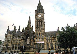 Architecture of Manchester - The Albert Memorial, Albert Square