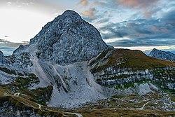 Mangart - 3rd highest peak in Slovenia (49305762166).jpg