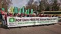 Manifestación de Unión de Uniones por unos precios Justos. Unión de Uniones.jpg