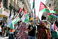 Manifestation in Madrid for the independence of the Western Sahara.jpg