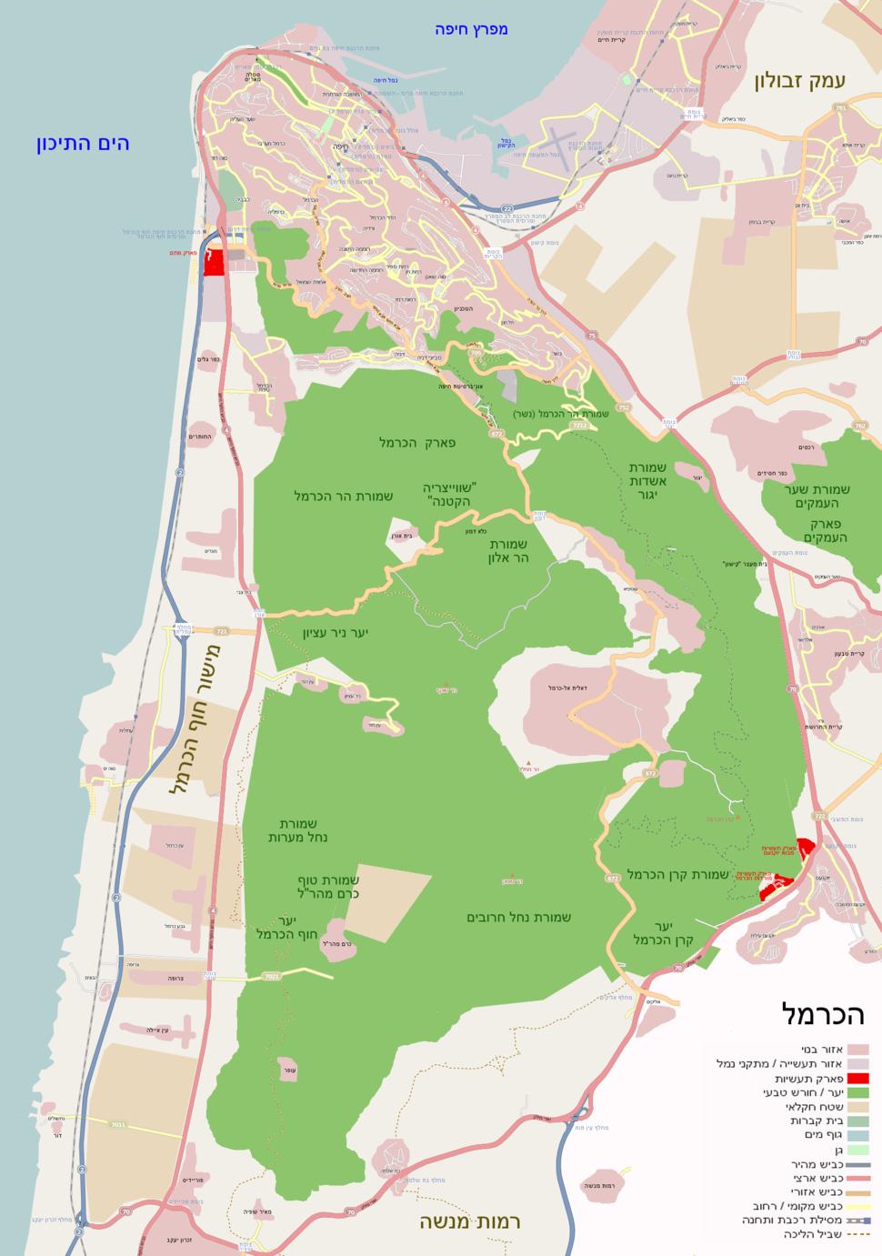 Map-carmel