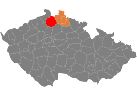 Situation du district de Česká Lípa