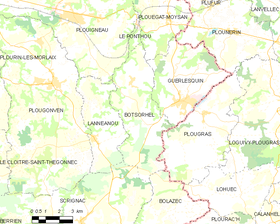 Map commune FR insee code 29014.png