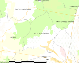 Map commune FR insee code 39572.png