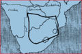 Map of Kaapvaal craton in southern Africa..PNG