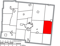 Map of Logan County Ohio Highlighting Perry Township.png