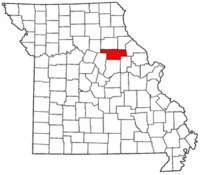 Map of Missouri highlighting Audrain County.png
