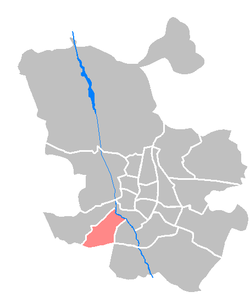 Location of Carabanchel