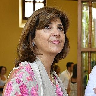 María Ángela Holguín - Image: María Ángela Holguín in 2018 – Perú, en Cartagena de las Indias, Colombia (cropped)