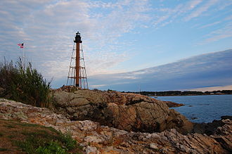 Marblehead, Massachusetts - Marblehead Light, at the northern tip of Marblehead Neck