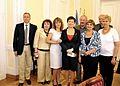 March of Life, Lia Shemtov, Bozena Gasiorowska (Helping Hand Coalition),Peter Loth, Hanna Gronkiewicz-Waltz.jpg