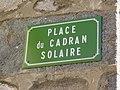 Marchampt - Place du Cadran Solaire - Plaque (mars 2019).jpg