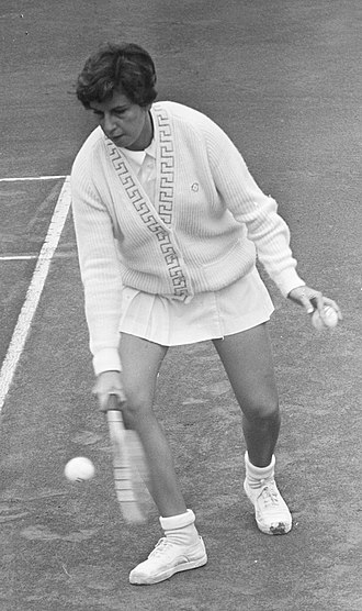 Maria Bueno - Bueno in July 1964 at a tournament in the Netherlands.