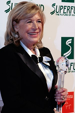 Marianne Faithfull - Faithfull at the Women's World Award in Vienna, March 2009