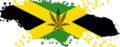 Marijuana and Flag Map of Jamaica.png