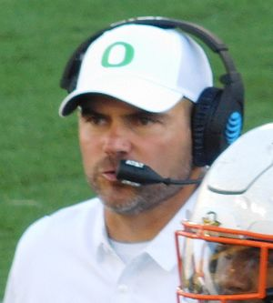 Mark Helfrich (American football) - Helfrich in 2016