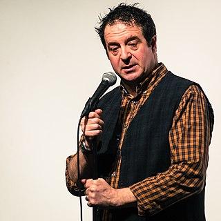 Mark Thomas English comedian