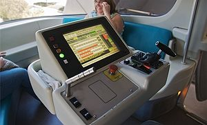 Walt Disney World Monorail System - Mark VI's New Controls.