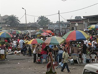 Mont Amba District - Image: Market in Matete