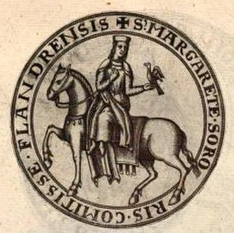Margaret II, Countess of Flanders - Image: Marketa Constantinopol