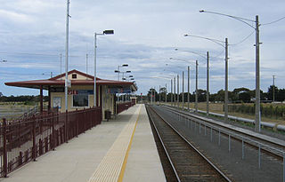 Marshall railway station railway station in Marshall, Victoria, Australia