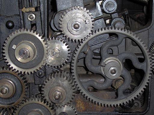 Maskiner på Brede Værk 6
