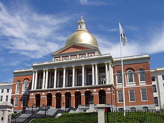 Charles Bulfinch - Massachusetts State House, completed 1798