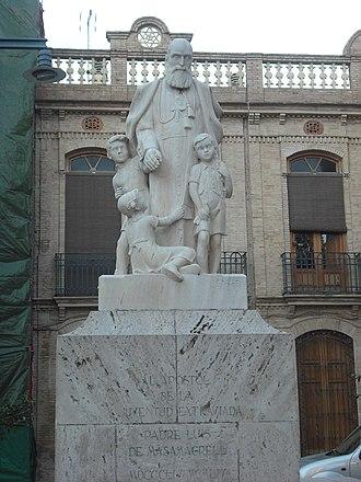 José María Amigó Ferrer - Monument.