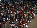 Massed Pipe Band, Edinburgh Military Tattoo, 2009 - geograph.org.uk - 1480165.jpg