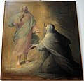 Mastelletta, dodici storie sacre, gesù appare a una santa, 1611-12, da s. francesco.jpg