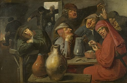 Master of the Large Jars - Peasants Carousing (ca.1635)