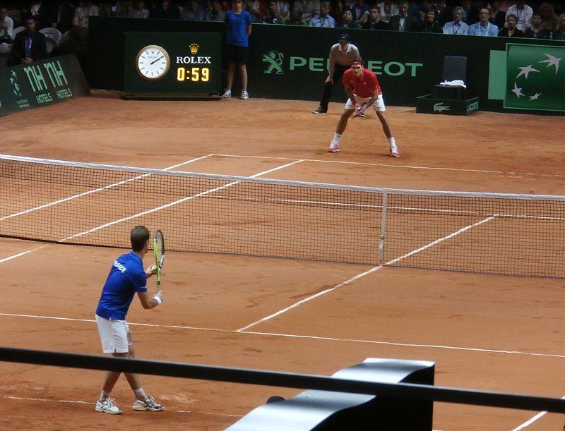 Match Federer-Gasquet (Coupe Davis 2014).JPG