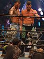 Matt Sydal and Ricochet Super Junior Tag Tournament Winners.JPG