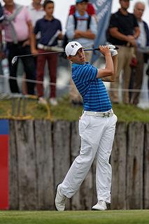 Matthew Fitzpatrick English professional golfer