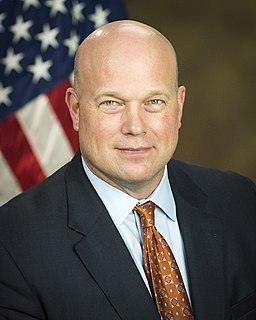 Matthew Whitaker American lawyer and politician