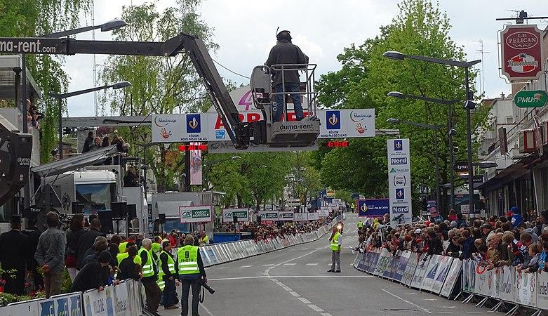 Maubeuge - Quatre jours de Dunkerque, étape 2, 7 mai 2015, arrivée (A21).JPG