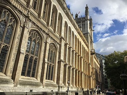 The Maughan Library. Following a PS35m renovation, it is the largest new university library in the United Kingdom since World War II Maughan Chancery Lane.jpg