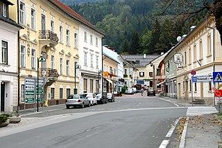 Kötschach-Mauthen Place in Carinthia, Austria