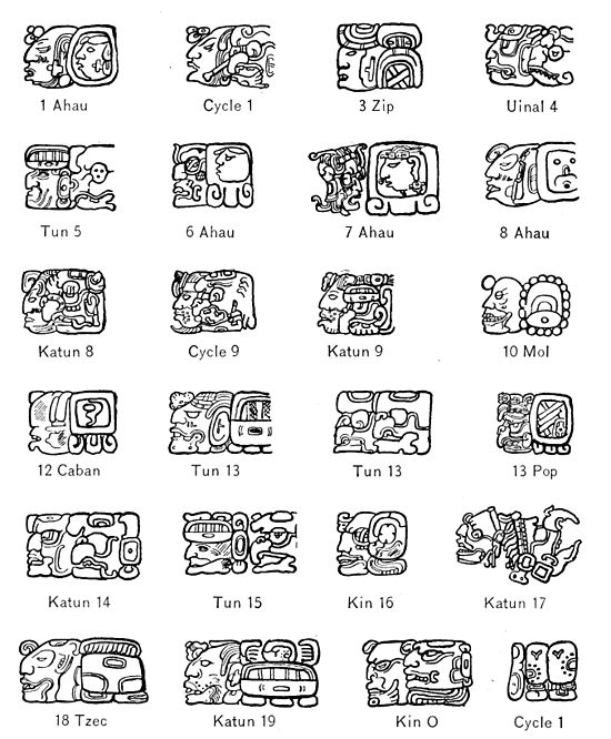 An Introduction To The Study Of The Maya Hieroglyphschapter 4