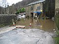 Mayroyd Lane flooded, Hebden Bridge - geograph.org.uk - 670239.jpg