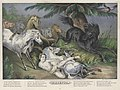 Mazeppa Surrounded by Wild Horses - Currier, 1846.jpg