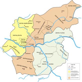 Duchy of Masovia - Image: Mazowsze 1313