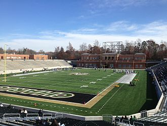 Jerry Richardson Stadium - 2013 Spring Practice