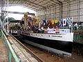 Medway Queen Albion Dock.JPG