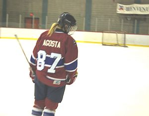 Meghan Agosta - Agosta while playing in the CWHL