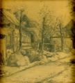 Meise pad tekening 1896 Gabriel van Dievoet (1875-1934).png