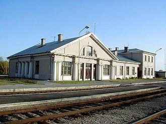 Eleja - Meitene railroad station